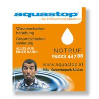 aquastop Inserat
